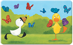 Duck & Goose: Butterflies